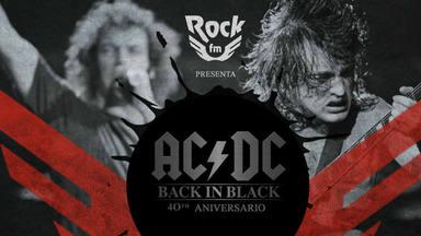 Así vamos a celebrar el 40º aniversario de 'Back in Black' de AC/DC en RockFM