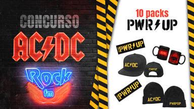 Electrifícate con AC/DC y RockFM y consigue un pack con regalos exclusivos