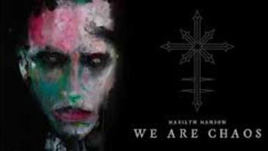 Marilyn Manson ya ha publicado su brillante nuevo disco, 'We Are Chaos'