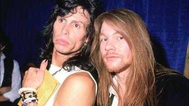 Steven Tyler y Axl Rose