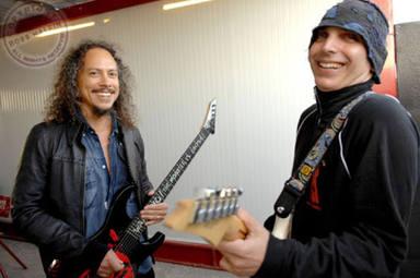 Satriani y Hammett