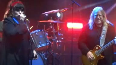 """Ann Wilson (Heart) y tres imponentes versiones de Led Zeppelin: """"Immigrant Song"""", """"Black Dog"""" y """"No Quarter"""""""