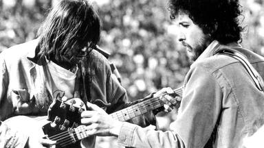 Neil Young y Bob Dylan.