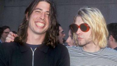 """Dave Grohl: """"¿Me llevaba tan bien con Kurt Cobain como me llevo con Taylor Hawkins? No"""""""