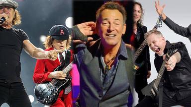 AC/DC, Bruce Springsteen y Metallica