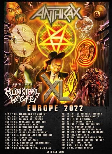 Anthrax Tour