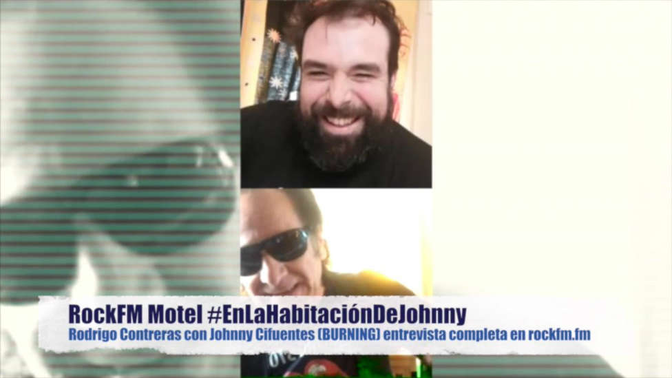 Entrevista a Johnny Burning en RockFM Motel