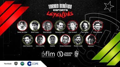 COPE y las leyendas de la Selección Española te invitan a participar en un gran torneo de e-Sports