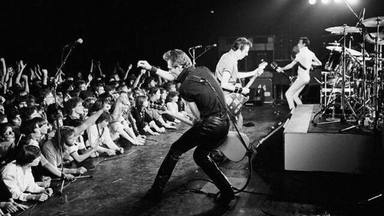 The Clash Performing on Stage