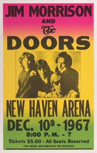 The Doors en New Haven Arena