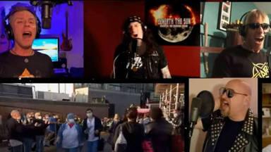 """Más de 30 músicos de Nueva York emulan a Iron Maiden, Dio o Judas Priest tocando el """"Stars"""" de Hear 'N Aid"""