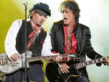 """Joey Perry (Aerosmith) """"aparecerá"""" en la última película de Johnny Depp"""