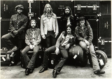 The Allman Brothers con Duane y Oackley