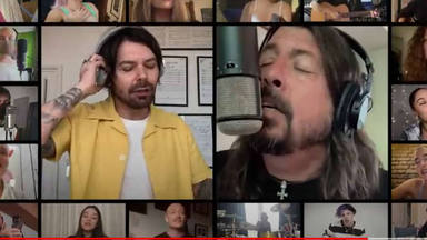 "Así ha sonado ""Times Like These"" de Foo Fighters versionado por artistas de Reino Unido"