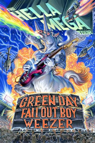 Green Day: cuélate tras bambalinas de su imponente Hella Mega Tour
