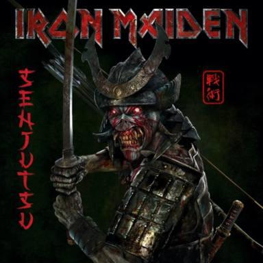 Portada Senjutsu, Iron Maiden