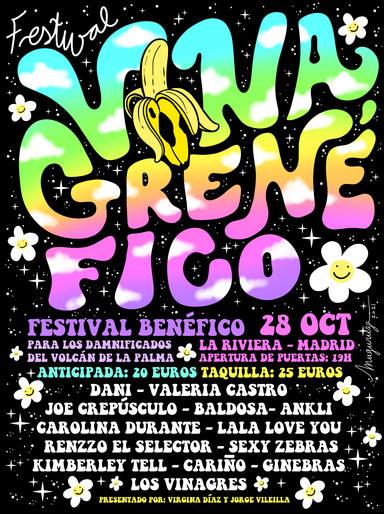 Así es el Vinagrenéfico, el festival solidario por todos los vecinos de La Palma