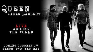 Queen y Adam Lambert anuncian su primer disco en vivo: 'Live Around The World'