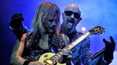 """Rob Halford (Judas Priest) y su insólita competición de """"hacer poses"""" sobre el escenario"""