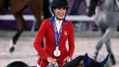 Medalla de plata para Jessica, la hija de Bruce Springsteen