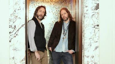 Imagen reciente de Chris y Rich Robinson.