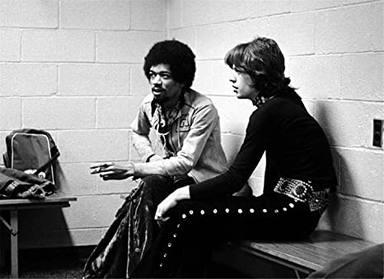 Hendrix y Jagger