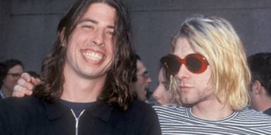 Grohl y Cobain