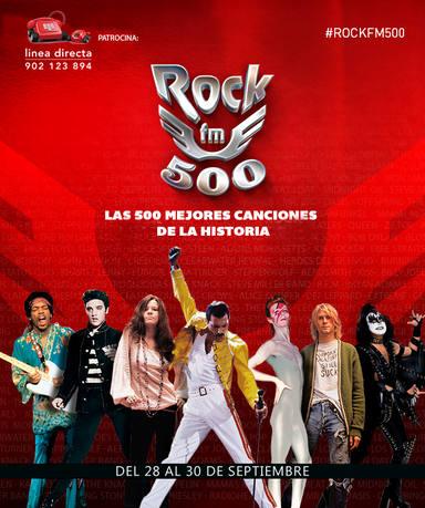 Quinta edicción #ROCKFM500