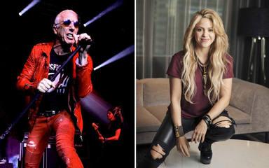 La ira de los fans de Shakira cae sobre Dee Snider