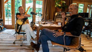 El podcast de Bruce Springsteen y Obama se convierte en un libro