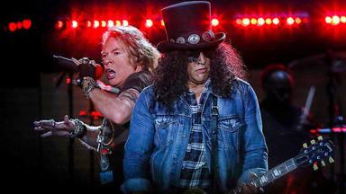 Disfruta de la vuelta a los escenarios de Guns N' Roses por su gira 'We're F'N Back!'