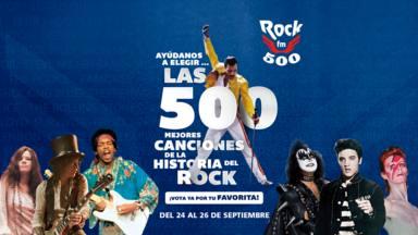 RockFM 500: ya puedes votar por tu canción favorita para su IX edición