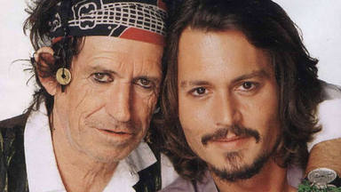 "Johnny Depp (Hollywood Vampires) desvela que Keith Richards es uno de ""sus rockeros drogadictos"" favoritos"