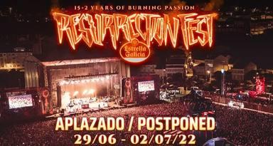 El Resurrection Fest pospone su celebración a 2022