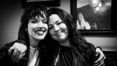 """Amy Lee (Evanescence) y los orígenes de su amistad con Lzzy Hale (Halestorm): """"Conectamos de inmediato"""""""