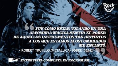 Alberto Mazcuñán entrevista a Robert Trujillo (Metallica)