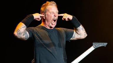 """Así se reaccionó James Hetfield (Metallica) al momento en el que """"Enter Sandman"""" provoca un """"seísmo"""""""