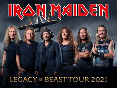 Iron Maiden no dará ningún concierto hasta 2021