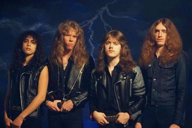 Metallica en la época de 'Ride the lightning', el disco que marcó el rumbo a seguir