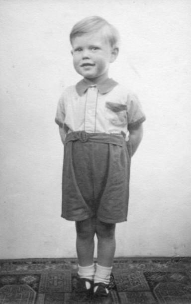 Mick Jagger de pequeño
