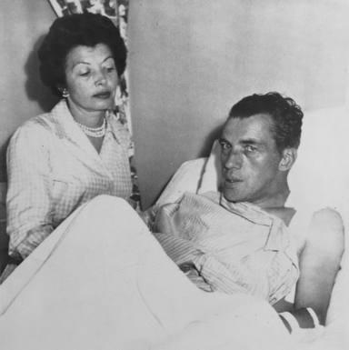 ctv-ysp-ed sullivan with wife 1956