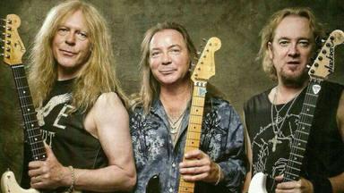 Adrian Smith (Iron Maiden) desvela la historia de cómo la banda consiguió funcionar con tres guitarristas