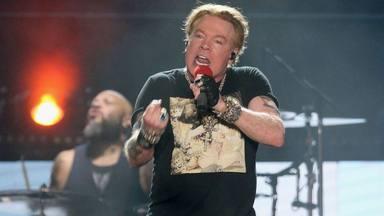 El ejemplar comportamiento de Axl Rose (Guns N' Roses) grabando 'Scooby-Doo'