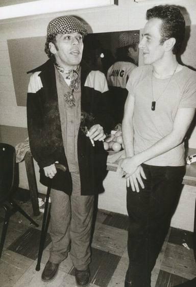 Ian Dury y Joe Strummer