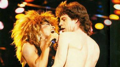 Mick Jagger y Tina Turner