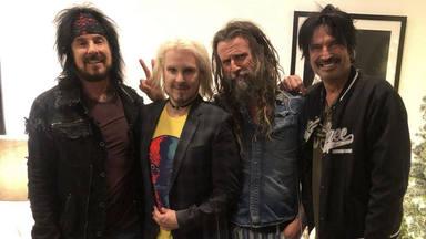 Así es el nuevo proyecto de Nikki Sixx (Mötley Crüe) con el ex-guitarrista de Marylin Manson y Rob Zombie