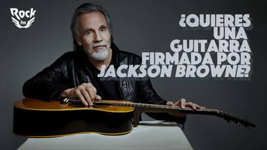Sorteamos una guitarra firmada por Jackson Browne