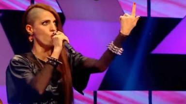 """La insólita """"versión death metal"""" de Madonna que ha aparecido en un concurso televisivo turco"""