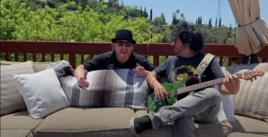 Escucha aquí la nueva canción de Steve Lukather (Toto) y Ringo Starr