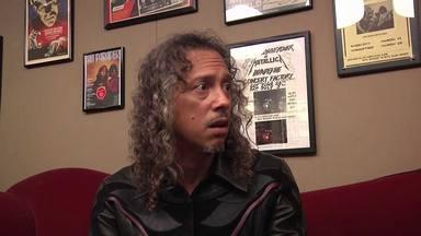 """Kirk Hammett (Metallica) admite """"temblar de miedo"""" en 'S&M2' y admite que Lars Ulrich hizo algo que no debía"""